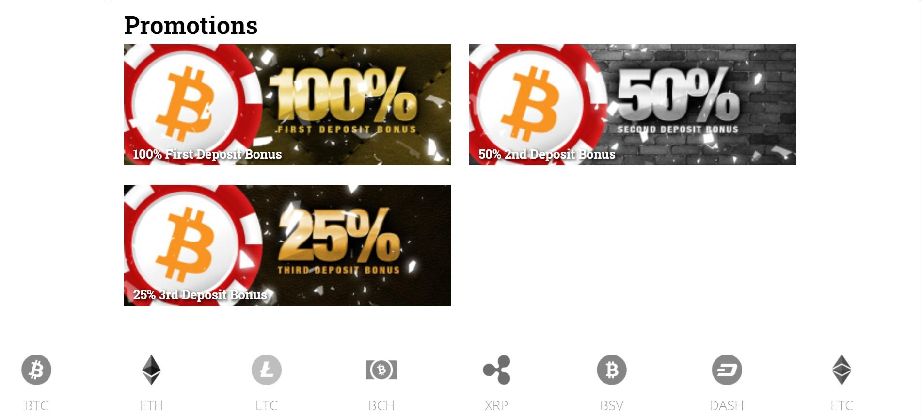 betcoinag promotions page screenshot