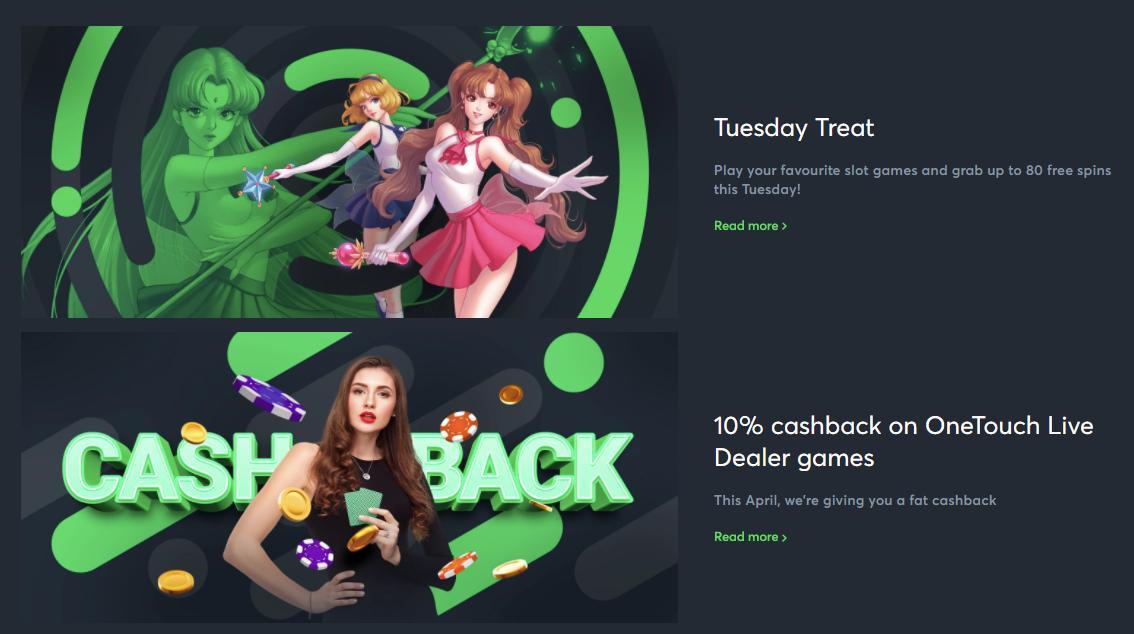 sportsbet.io casino promotions screenshot