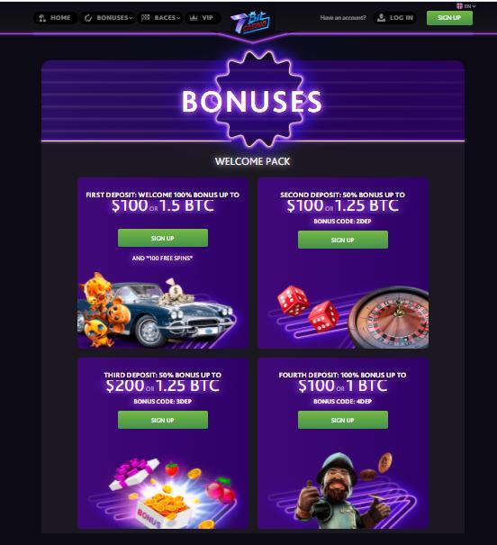 7bit bonuses