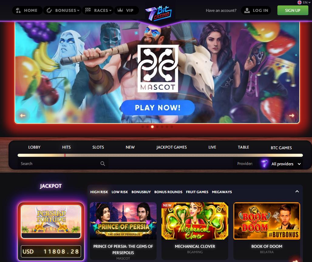 7bit homepage