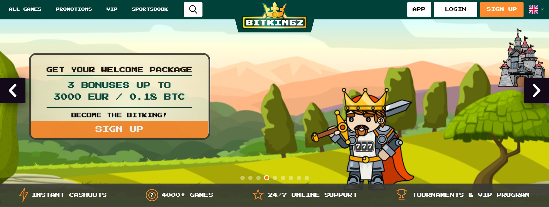 bitkingz home page