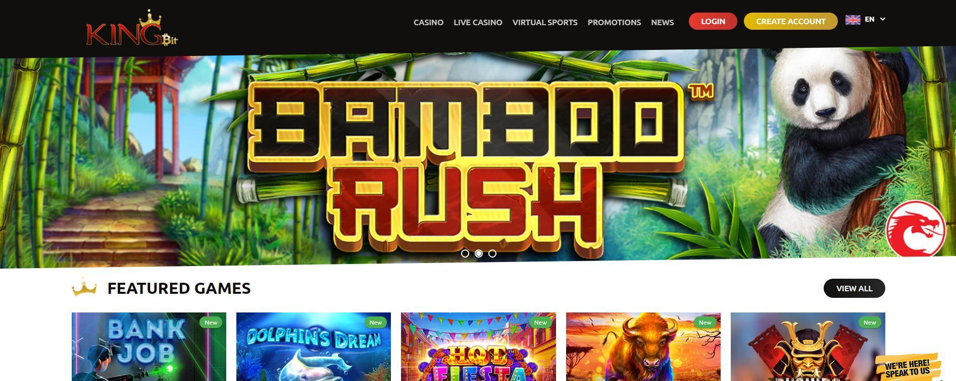 kingbit home page