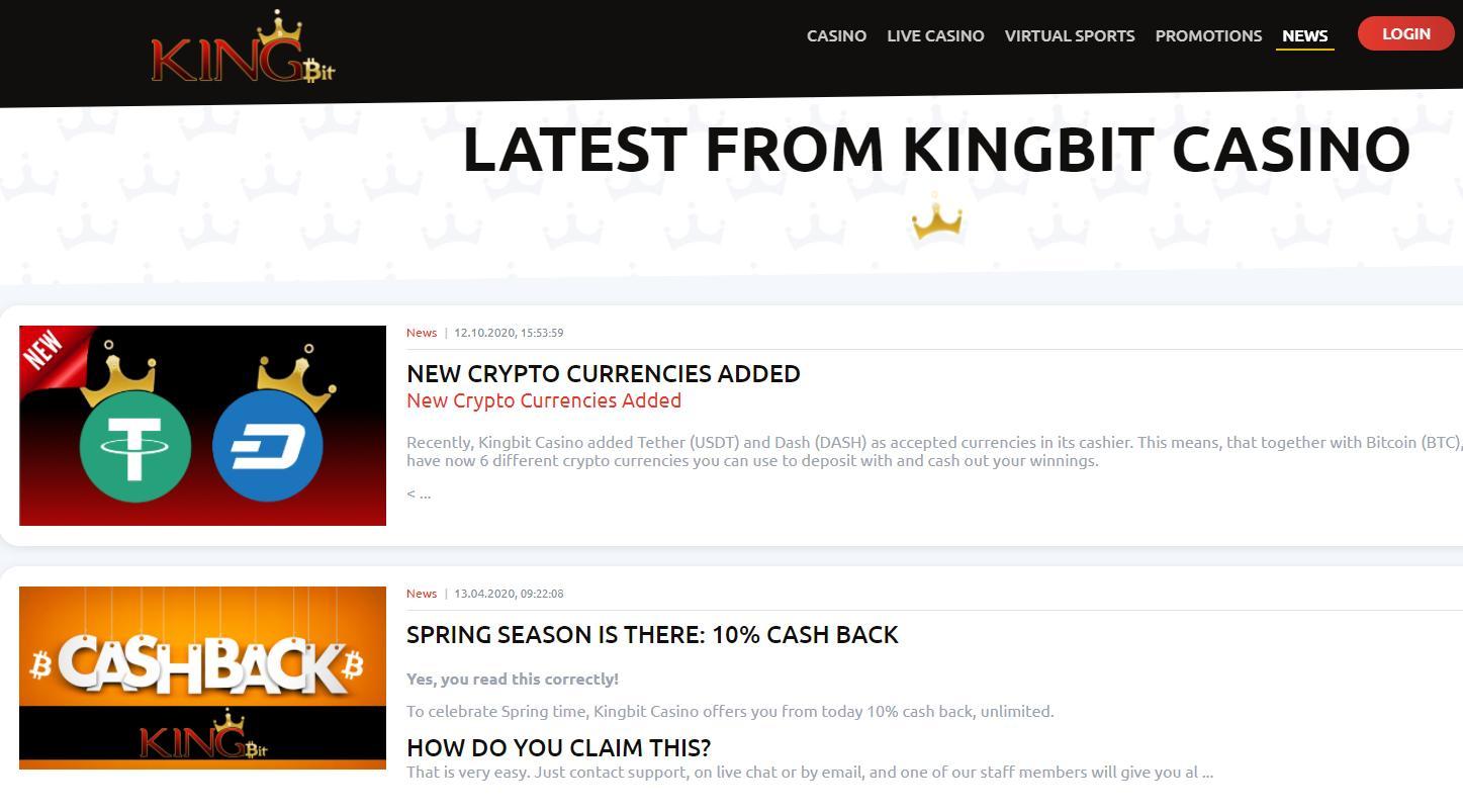 kingbit news page