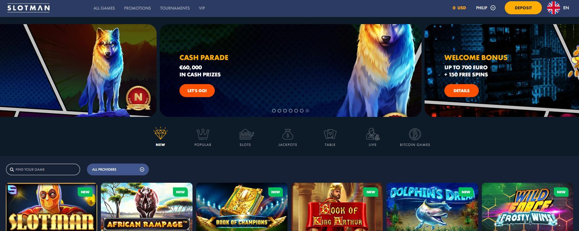 slotman homepage
