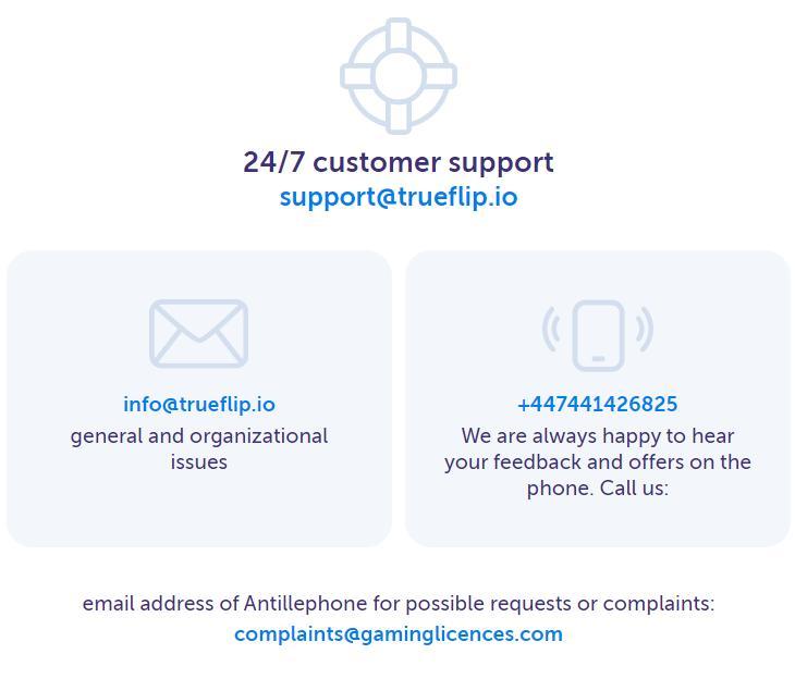 true flip customer support