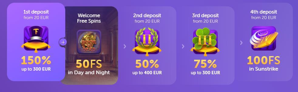 true flip deposit bonuses