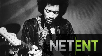 Jimi Hendrix NetEnt Casino slot