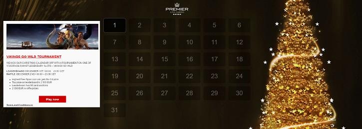 premier-live-casino-christmas-calendar-bonuses