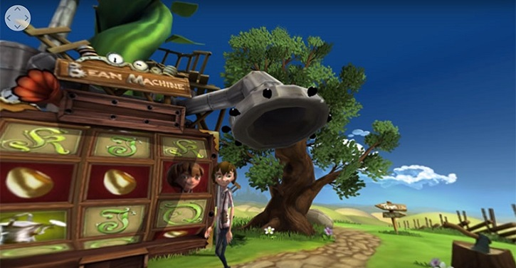 Virtual Reality VT Spillerautomater Jack and the beanstalk