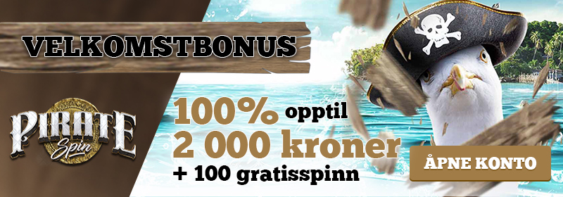 piratespin casino innskuddsbonus